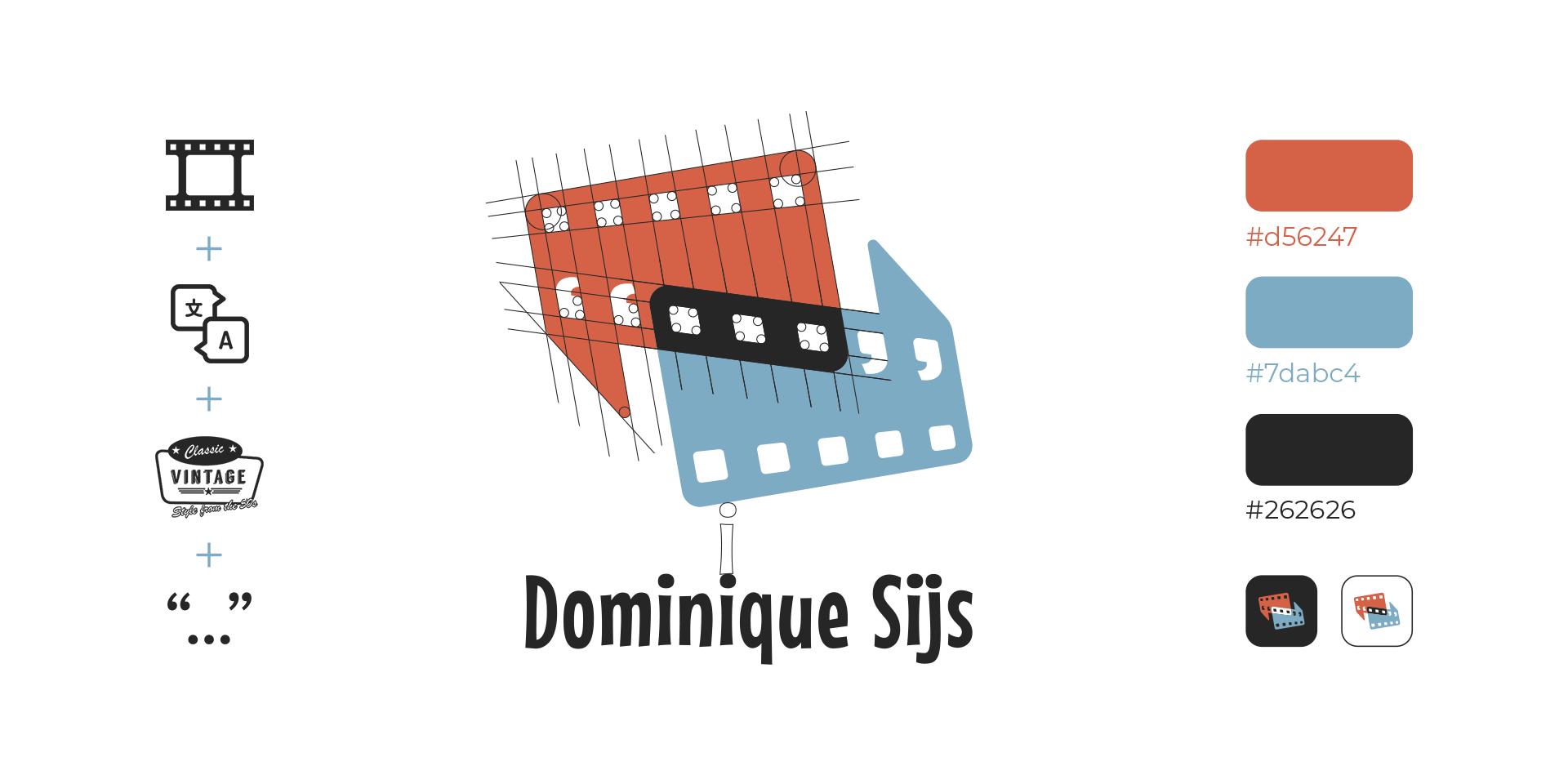 Dominique Sijs logo grid