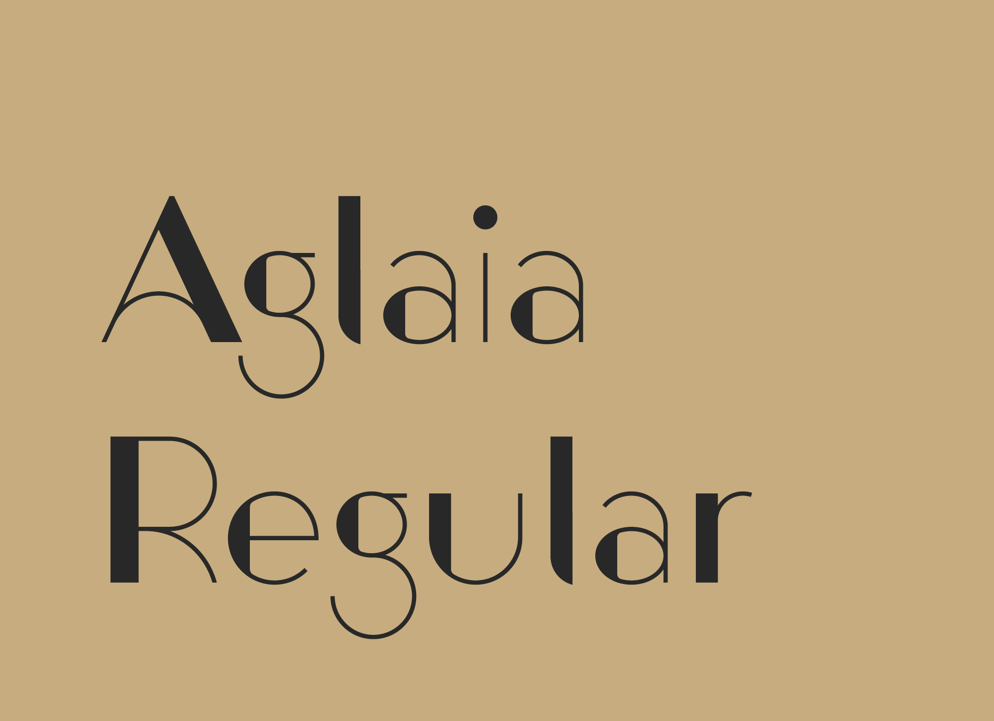 Aglaia-Regular