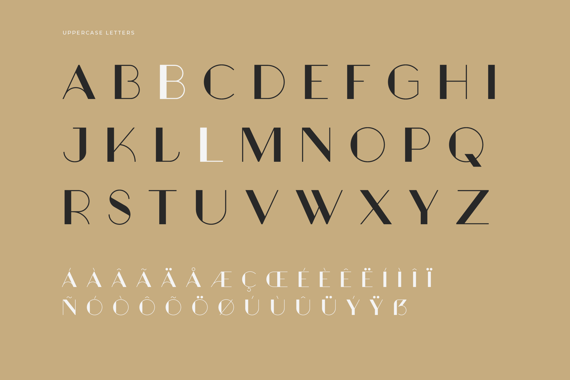 Aglaia-Regular-Uppercase