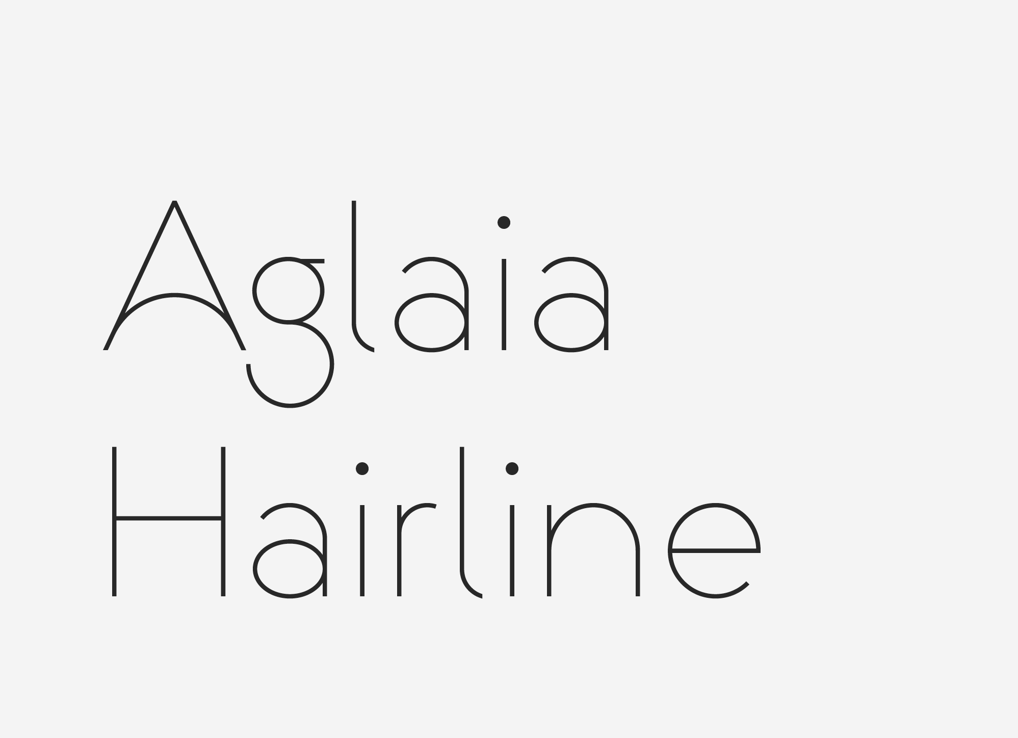 Aglaia-Hairline-