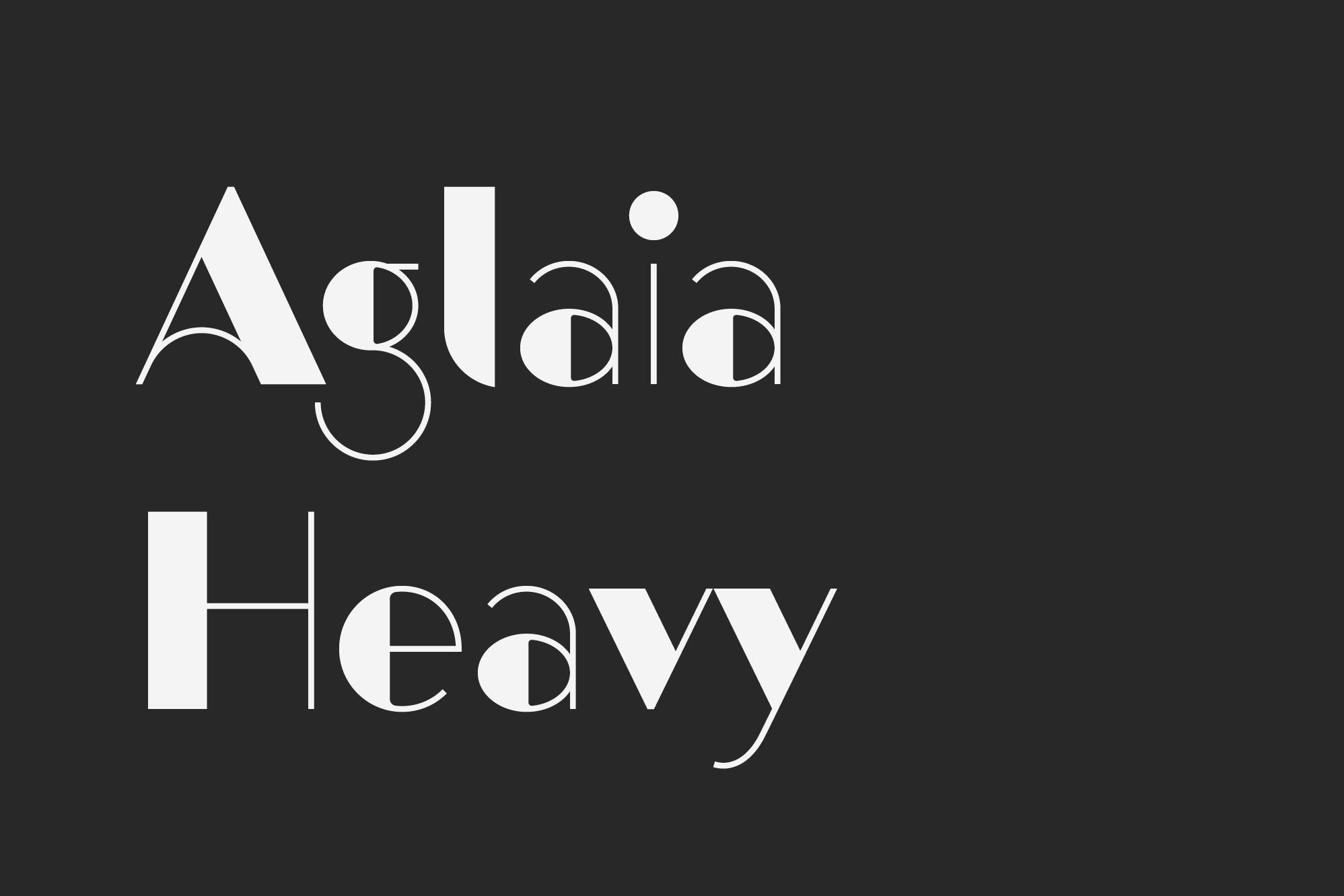 Aglaia-Heavy