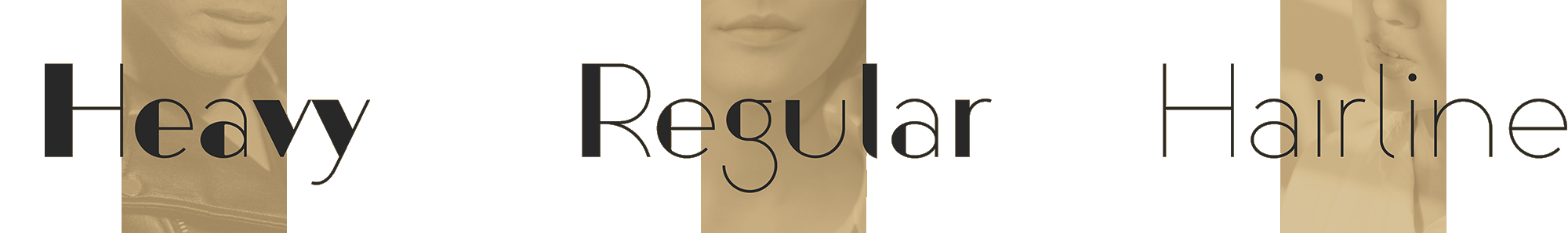 Aglaia font weights