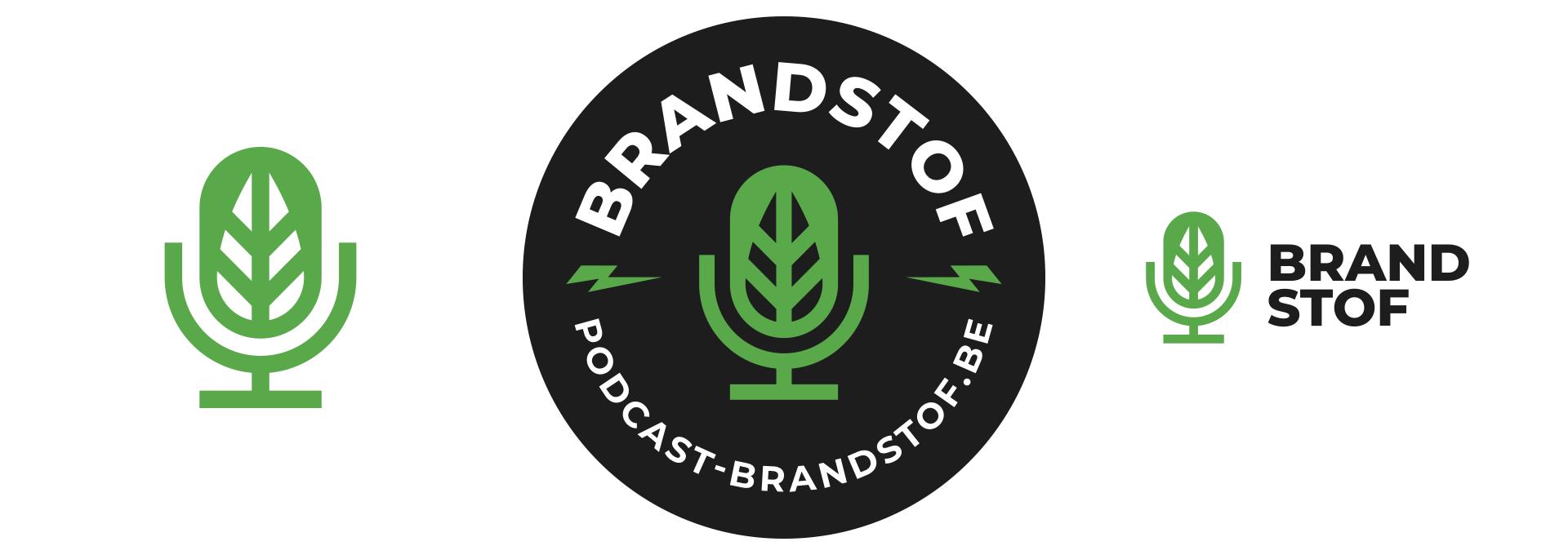 Brandstof logo on white