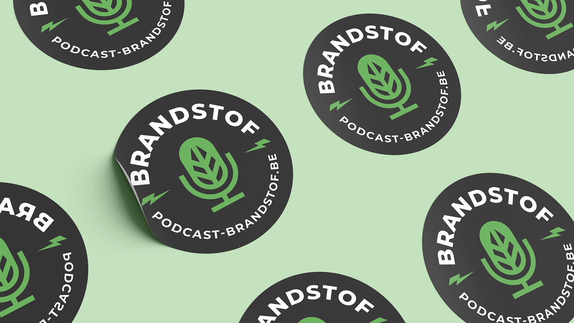 Brandstof podcast emblem