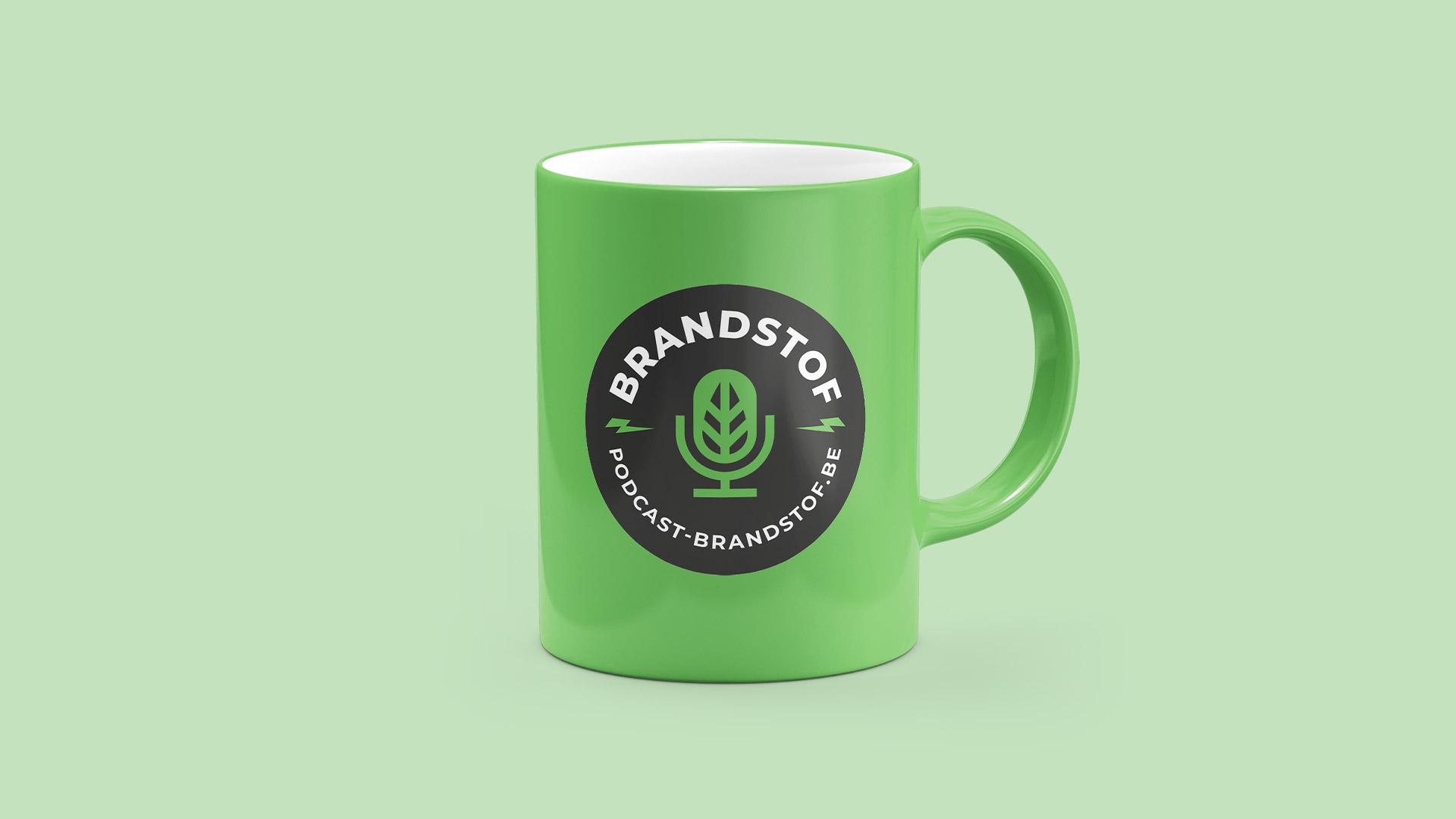 Brandstof Podcast mug