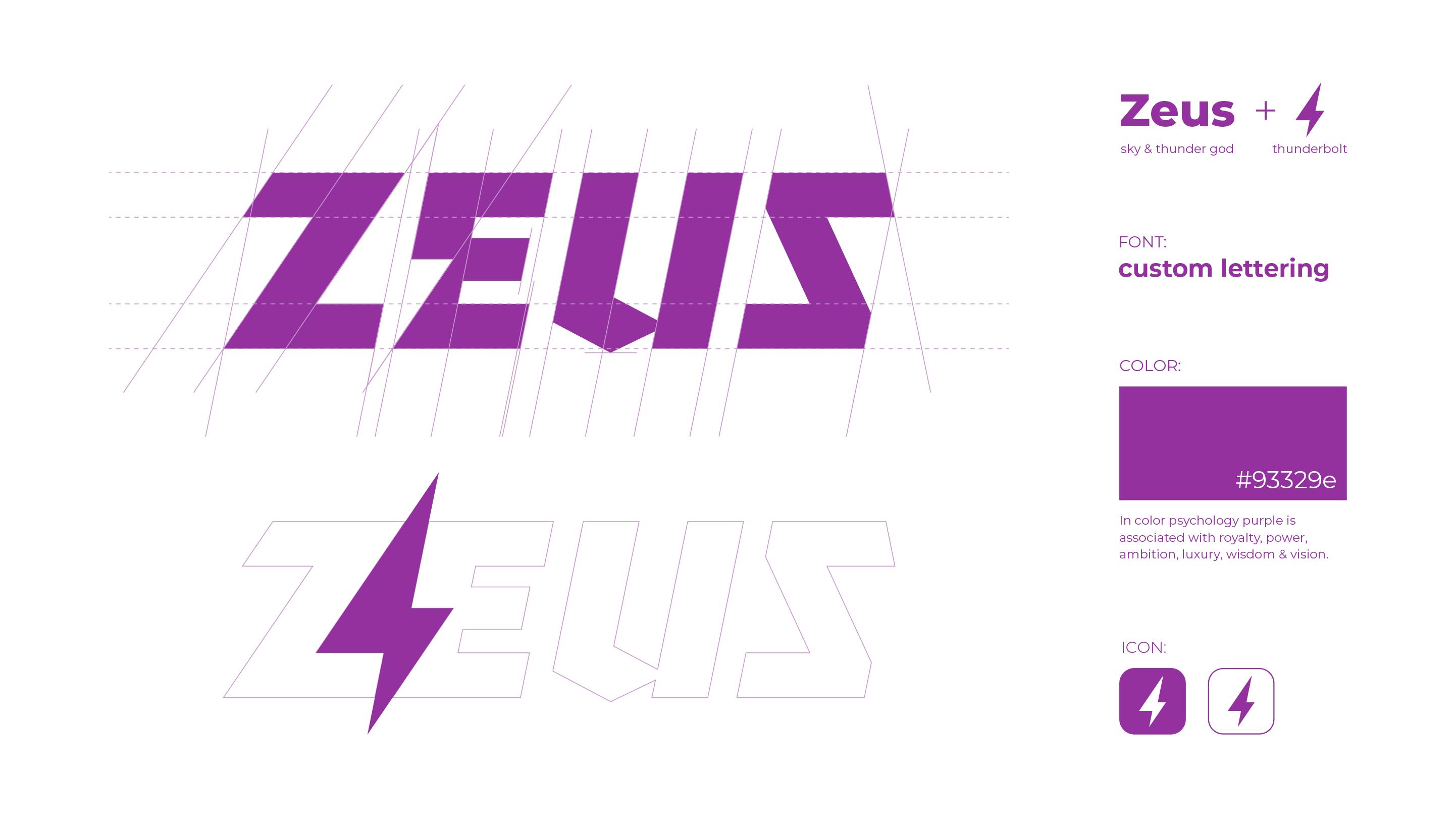Zeus logo grid
