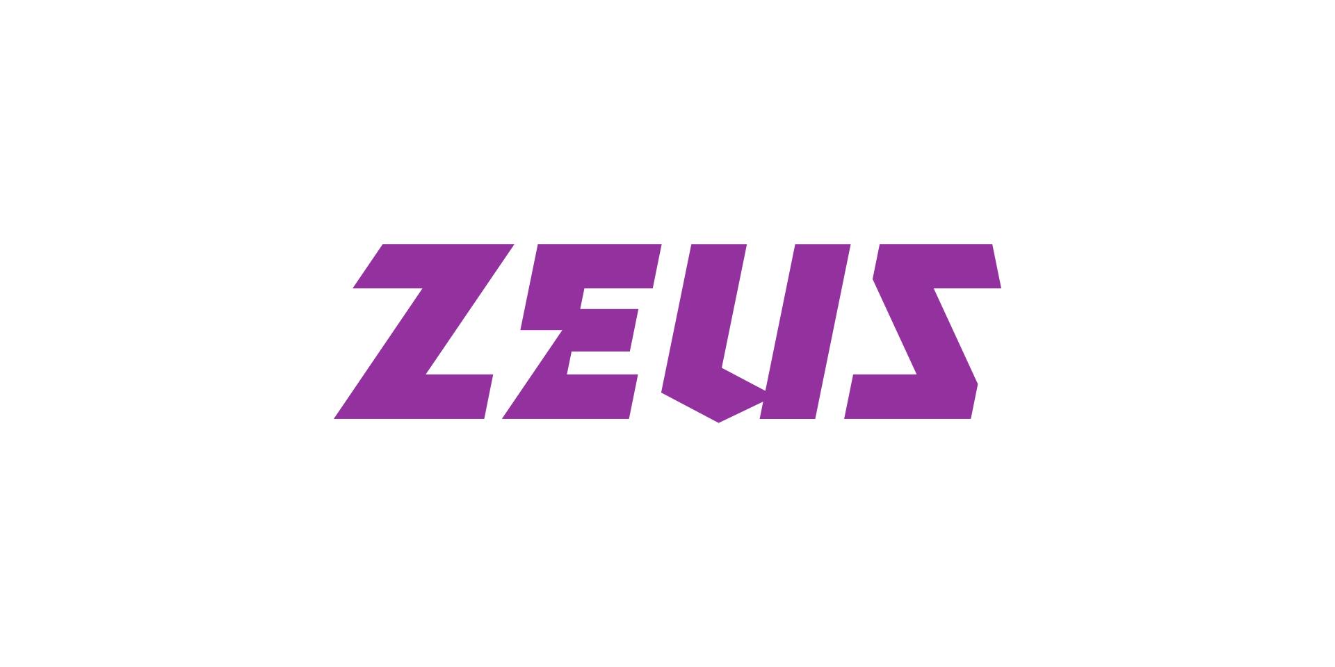 Zeus logo on white