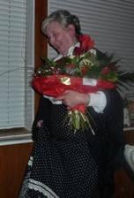 """Susan spielt Miss Sophie in """"Dinner for One"""" - Silvester 2010"""