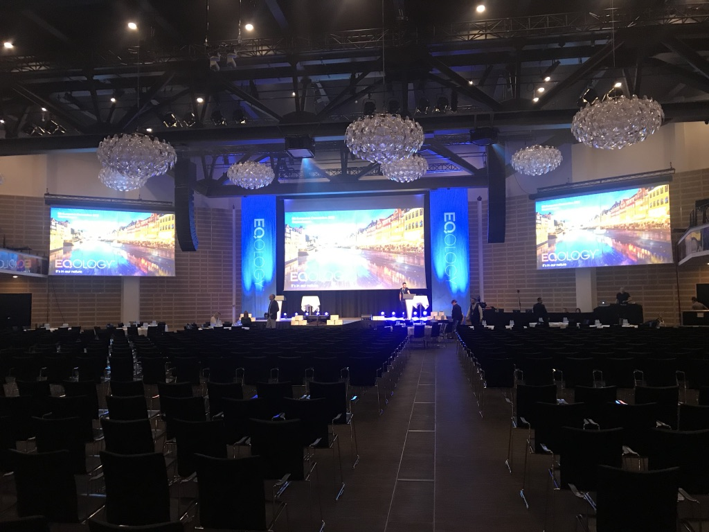 Corporate event in Copenhagen provided by Production Support Services