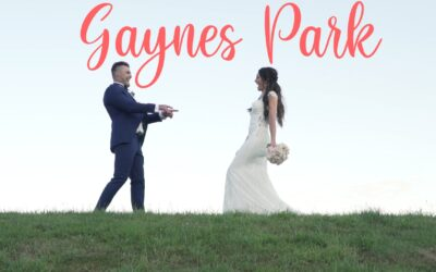 Gaynes Park wedding film