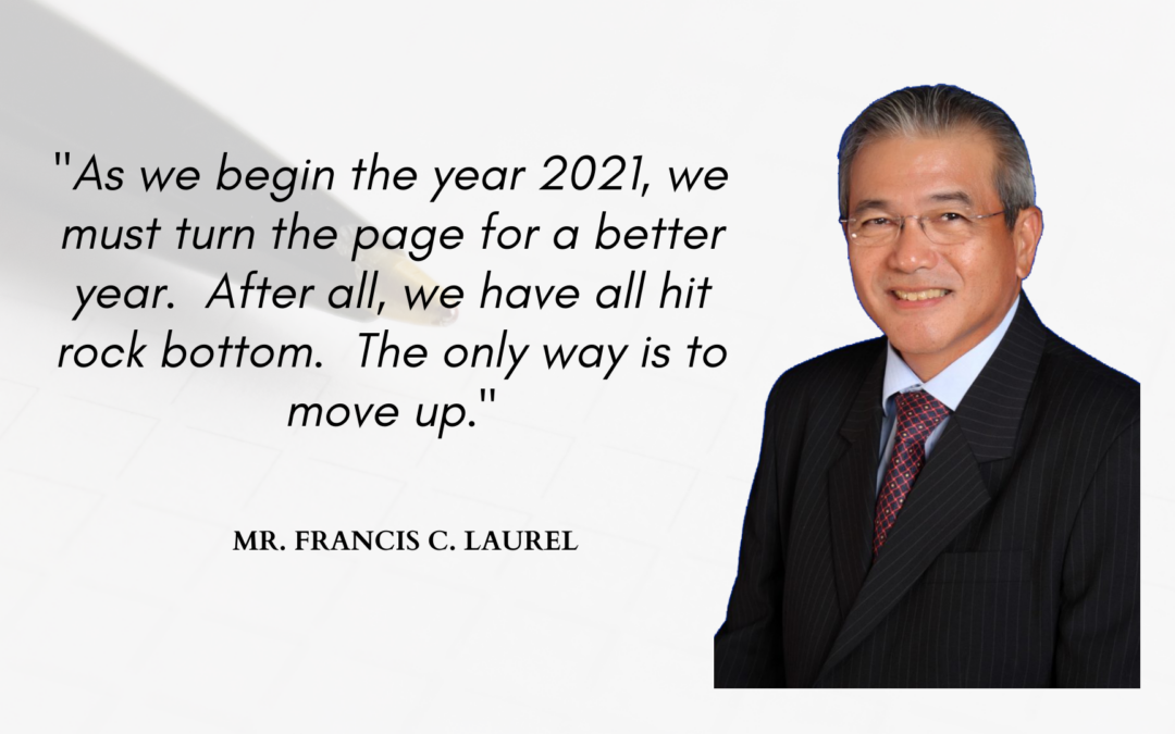 New Year's Message of Mr. Francis C. Laurel