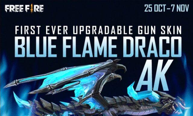 Blue Flame Draco AK