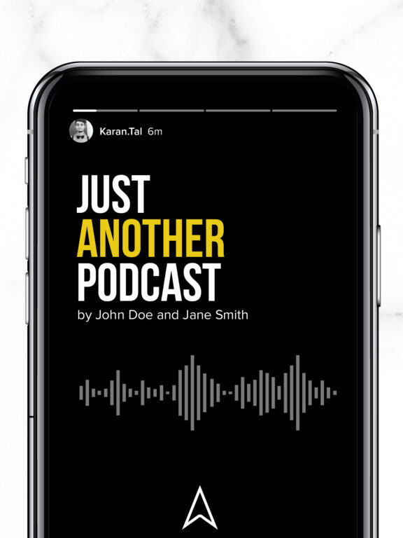 How to drive traffic from your Instagram to podcasts using stories