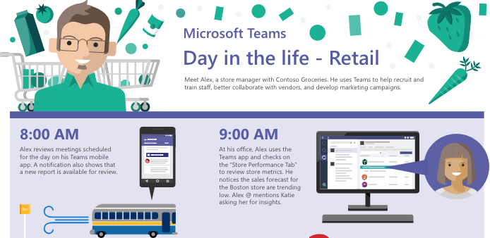 Spend a day in the life with retail store manager Alex