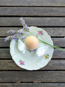 egg and lavender