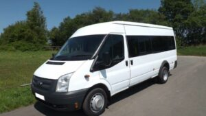 one of our mini bus hire vehicles