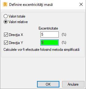 Definire excentricitati masa