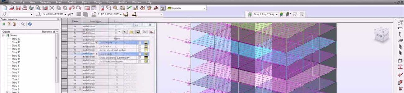 Analiza seismica in Robot Structural Analysis Professional