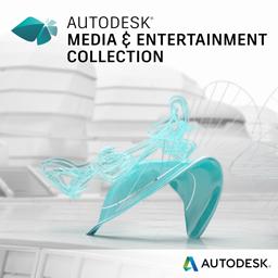 Autodesk Media Entertainment Collection badge-