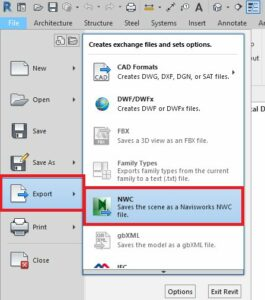Add-on Revit Export to NWC