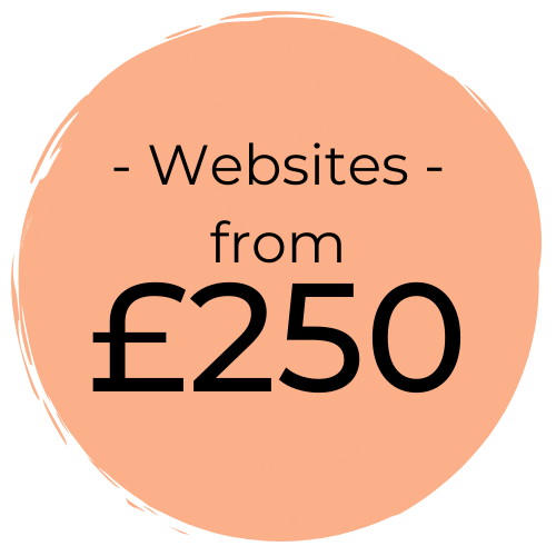 Website Design for Small Businesses from £250.