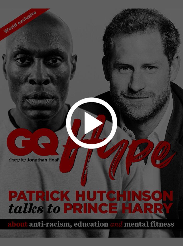 Patrick Hutchinson meets Prince Harry GQ