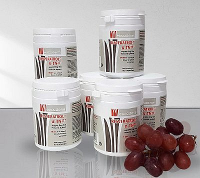 Resveratrol & TN25 Supplement (60 capsules) x 6 Tubs