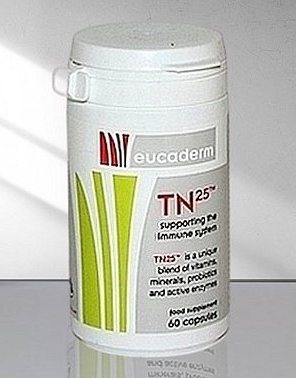TN25 Live Enzyme Supplement  (60 capsules)