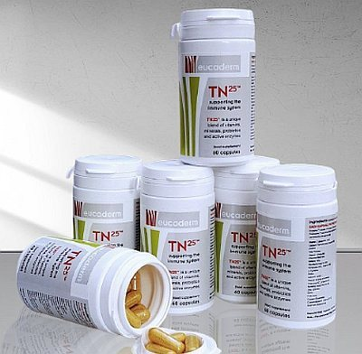 TN25 Live Enzyme Supplement (60 capsules) x 6 Tubs