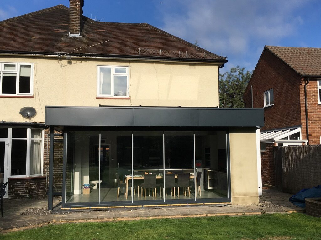 Contemporary rear extension, Ewell Village