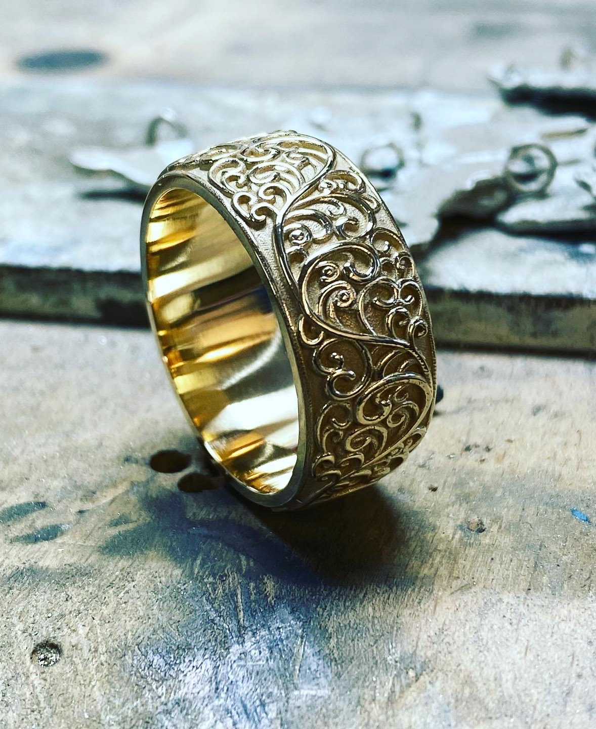 jewellery finishing ring