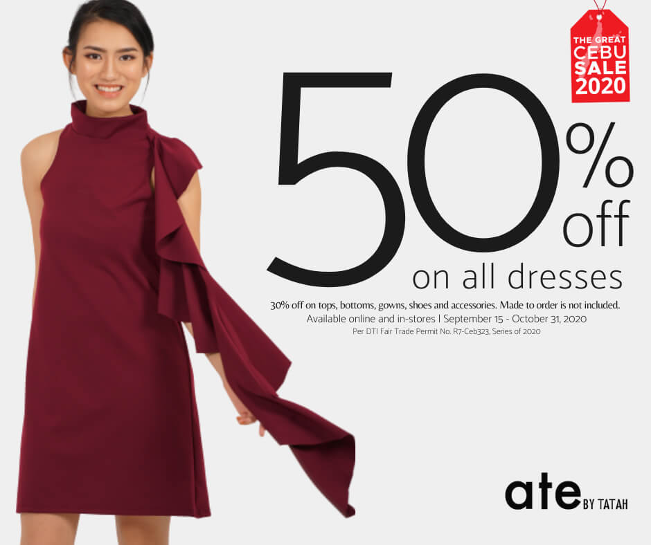 ate by Tatah: 50% off on all dresses