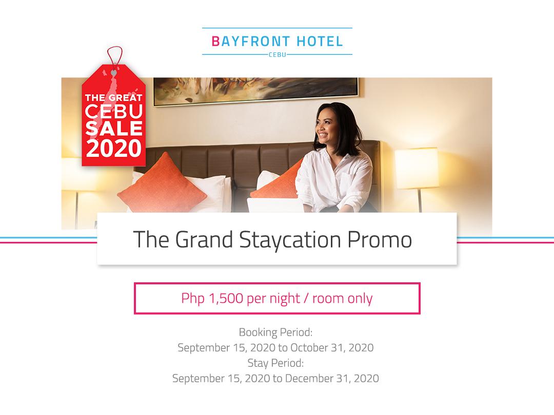 Bayfront Hotel offers Grand Staycation Promo
