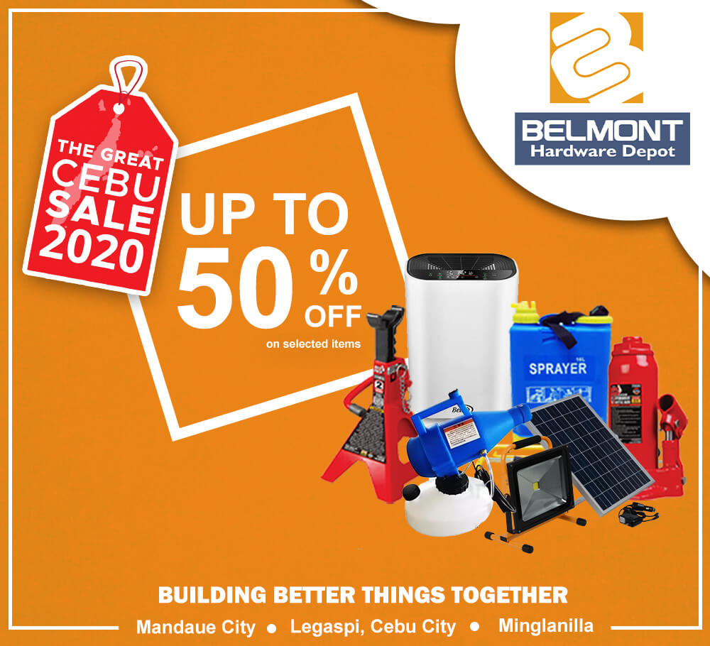 Belmont Hardware Depot offers up to 50% off on selected items