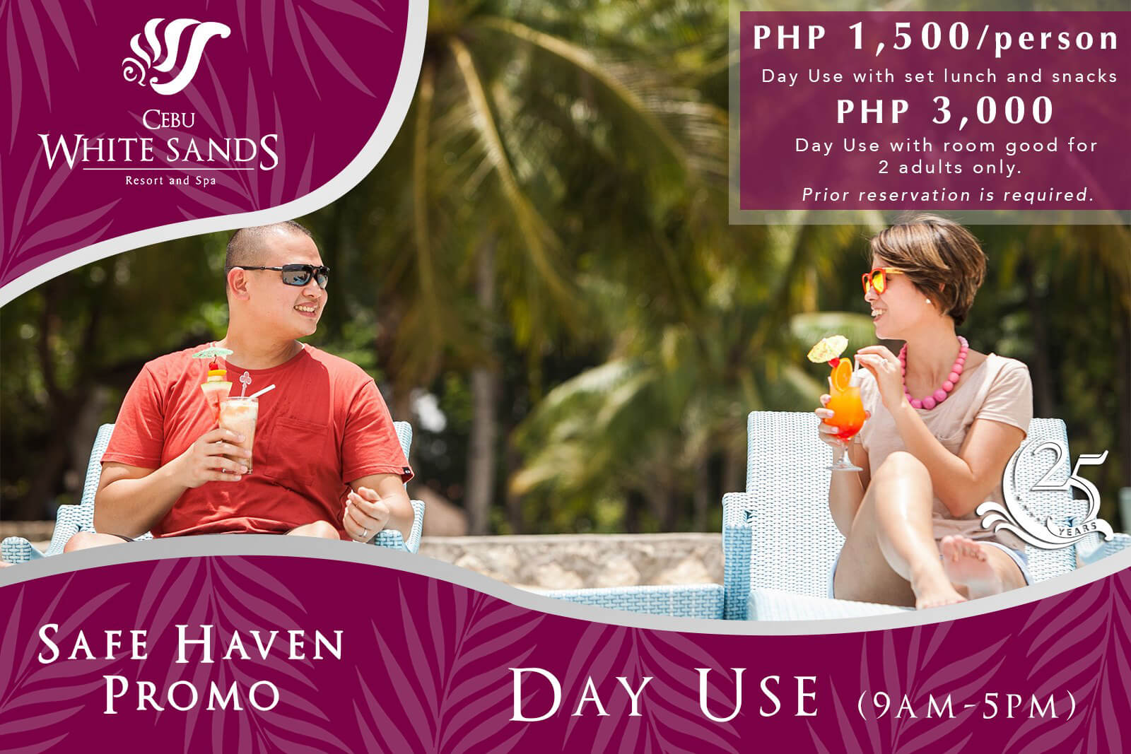 Cebu White Sands Resort and Spa offers overnight stay, day use promos
