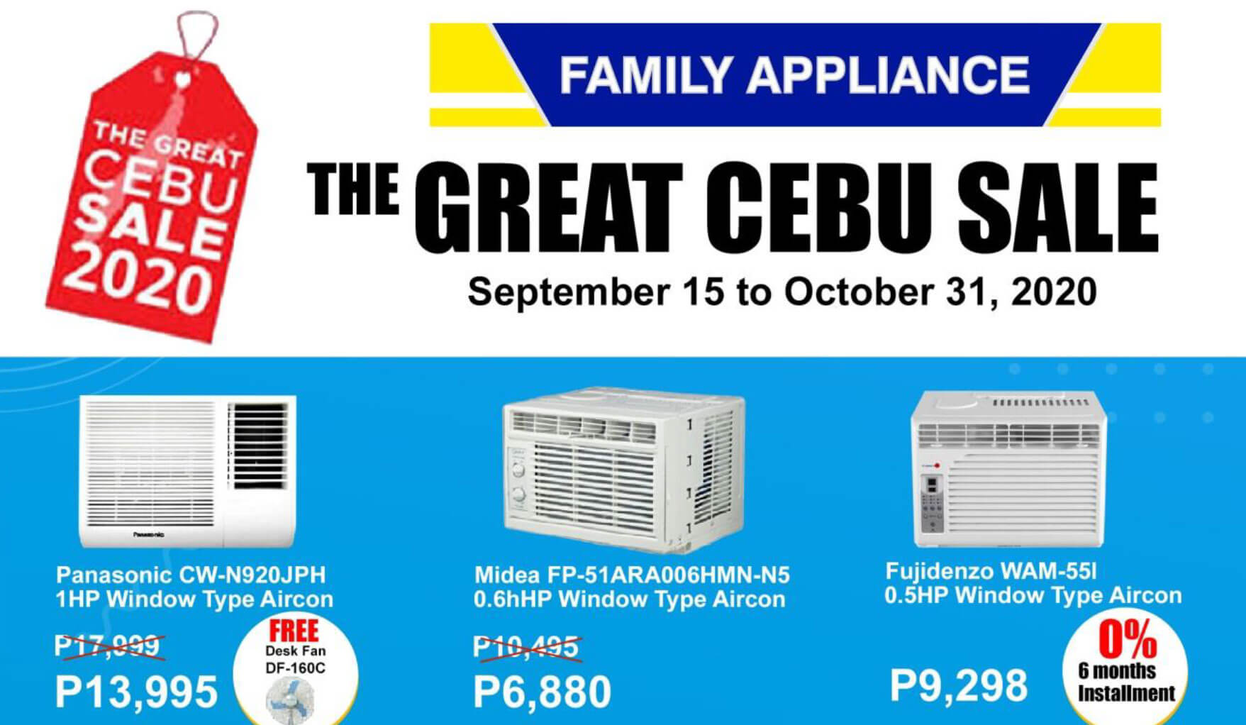 Family Appliance offers discounts on appliances