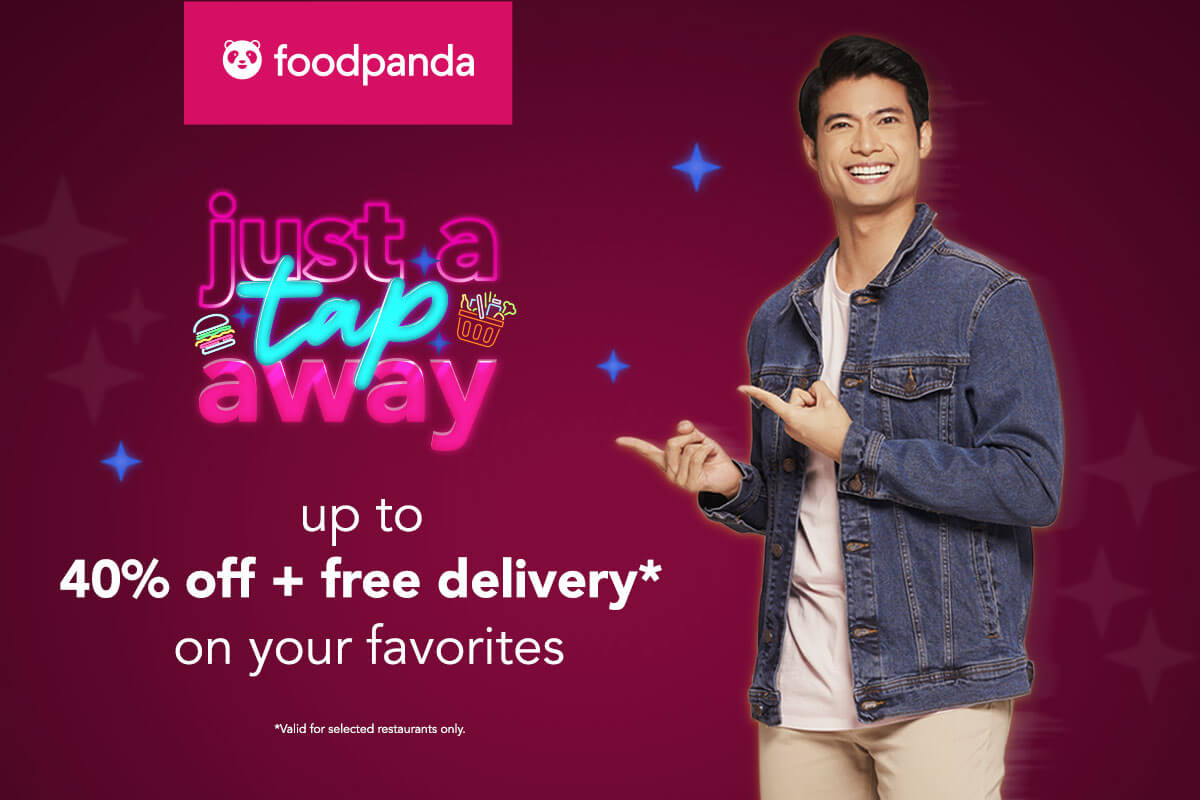 foodpanda offers up to 40% off + free delivery