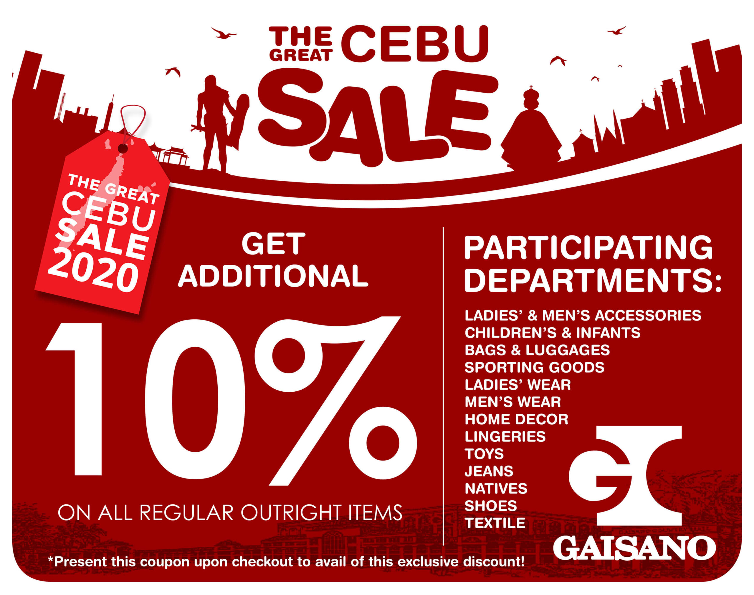 Gaisano Country Mall joins The Great Cebu Sale