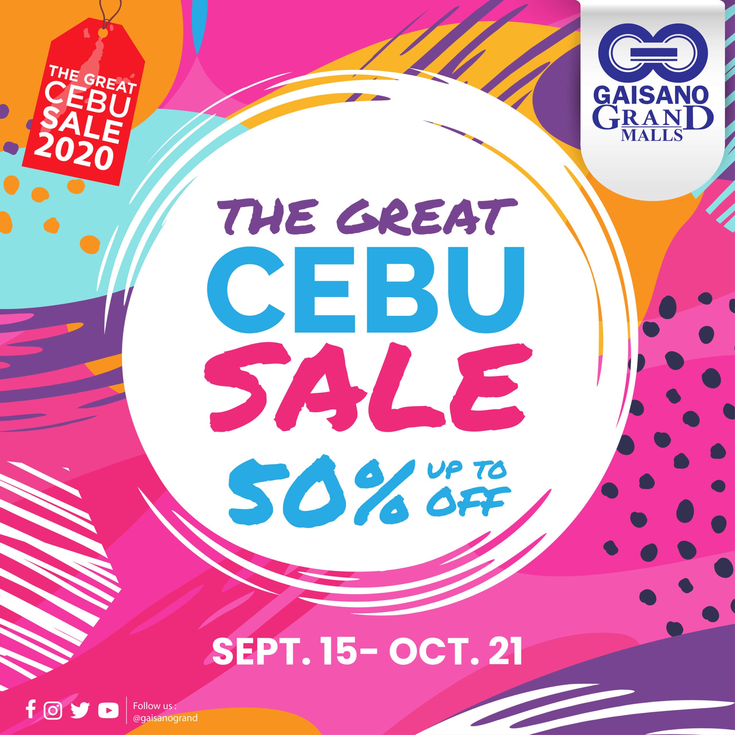 Gaisano Grand offers up to 50% off