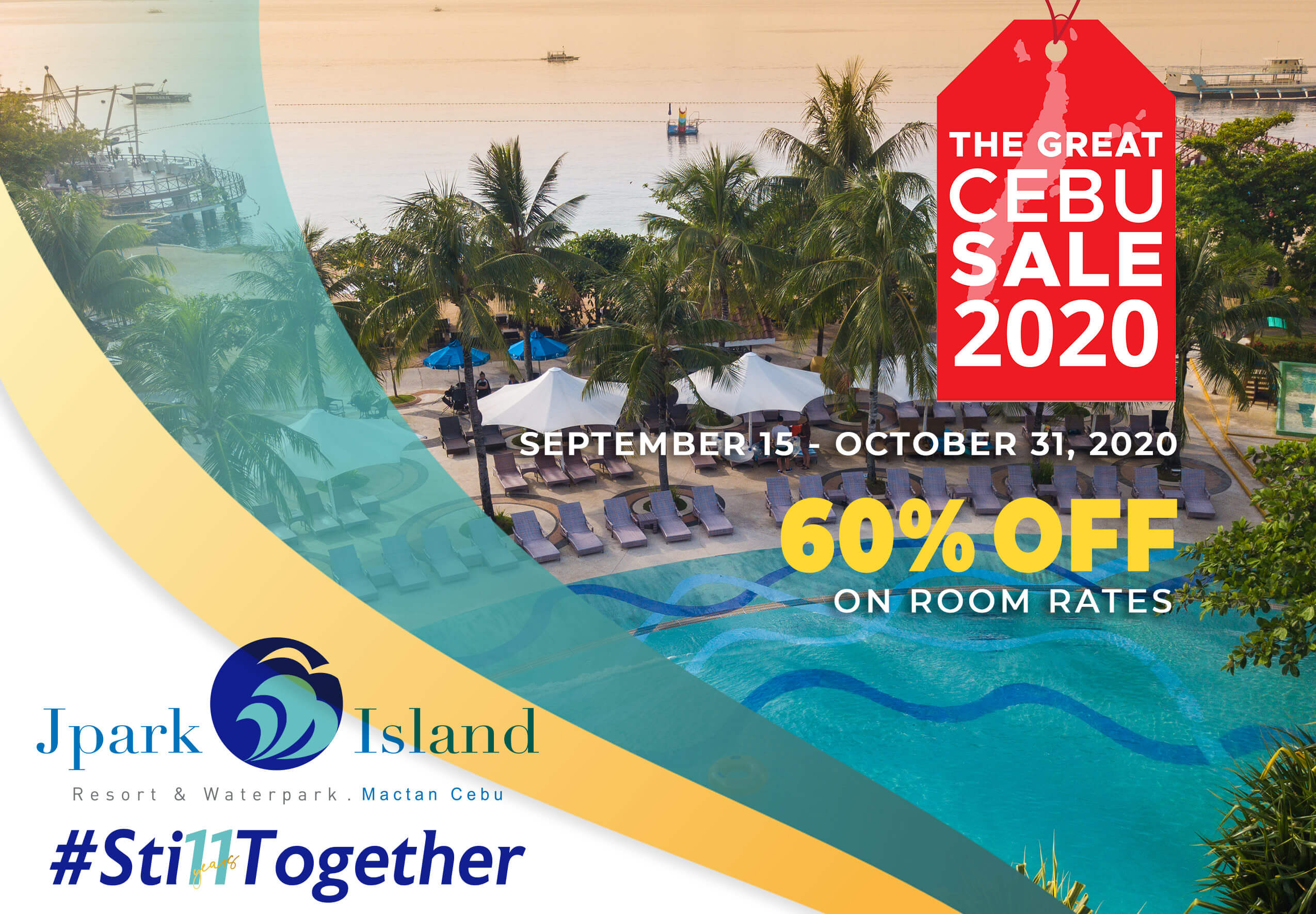 Jpark Island Resort & Waterpark offers up to 60% discount on room rates