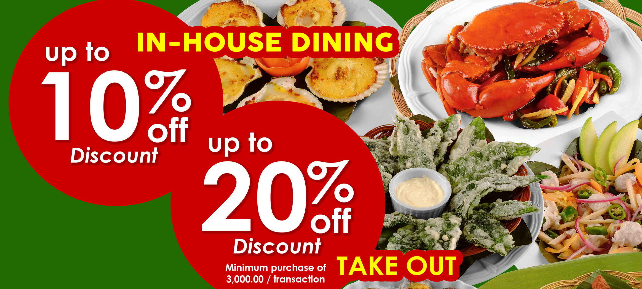 Lighthouse Restaurant offers discount on in-house dining, take out