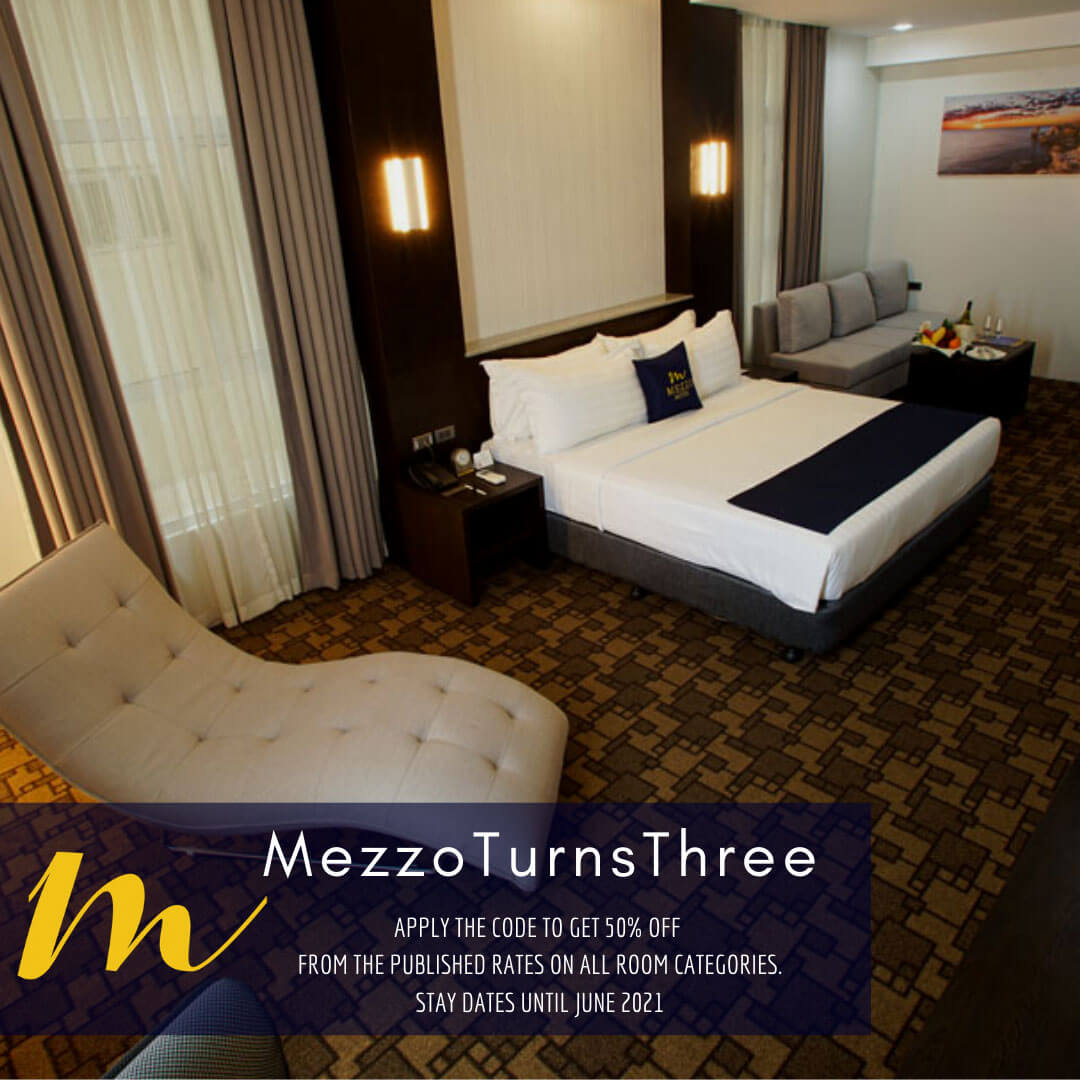 Mezzo Hotel offers up to 50% of on rooms