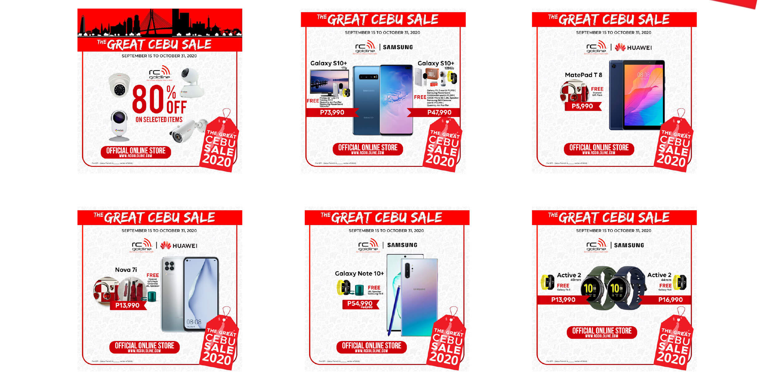 RC Goldline offers great price, freebies for gadget purchases