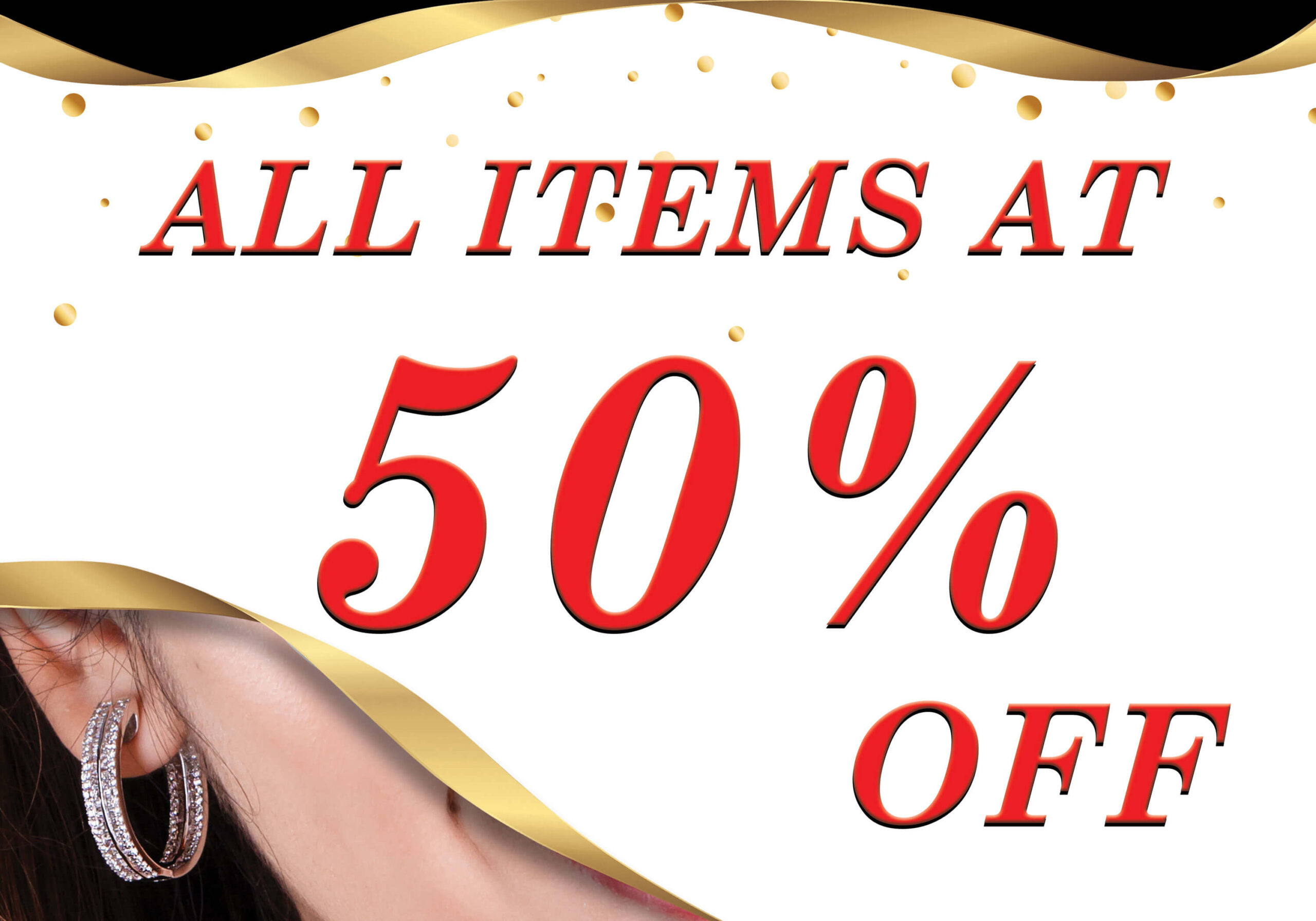 My Jewels offers all items at 50% off