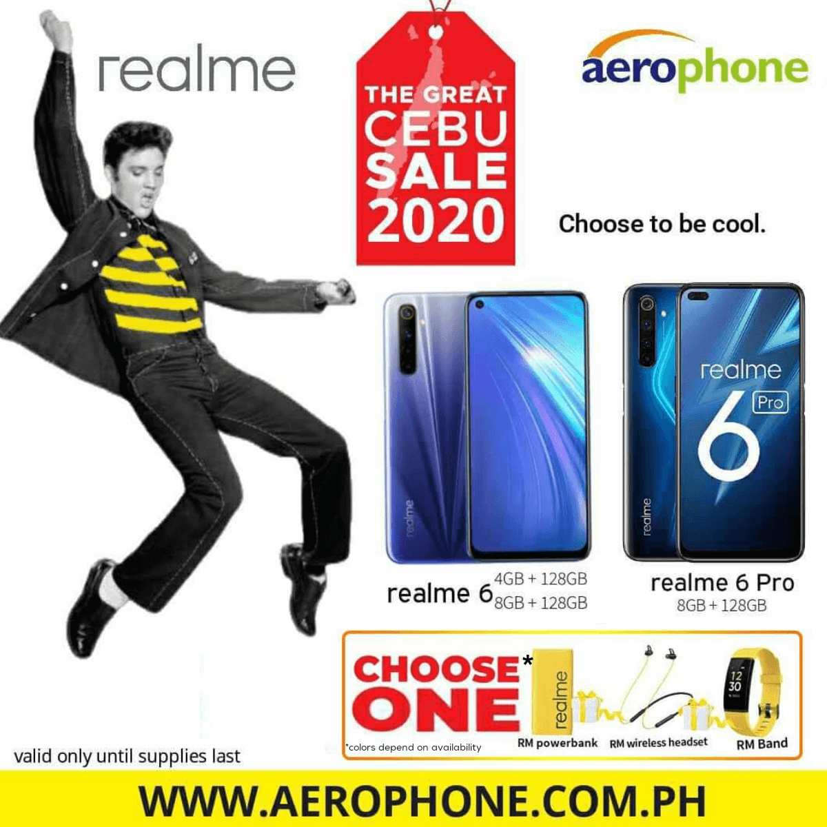Aerophone offers up to 50% off on gadgets, freebies