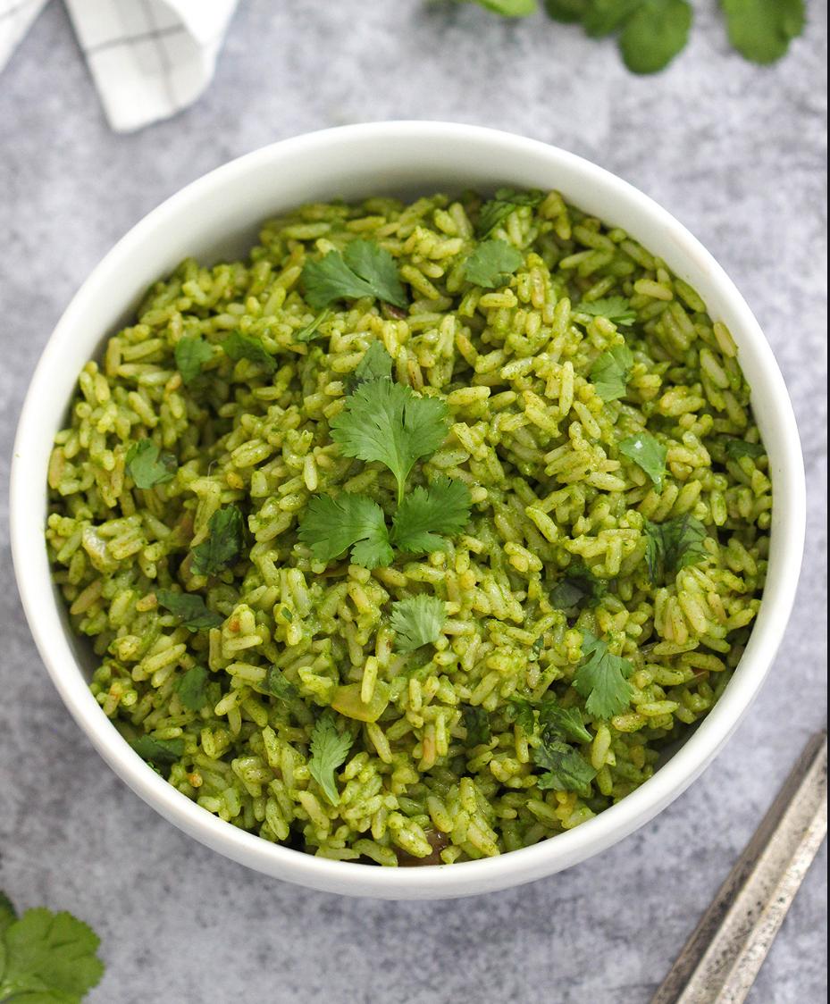 Green Rice, twice as nice!