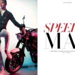 Speeder Man Editorial