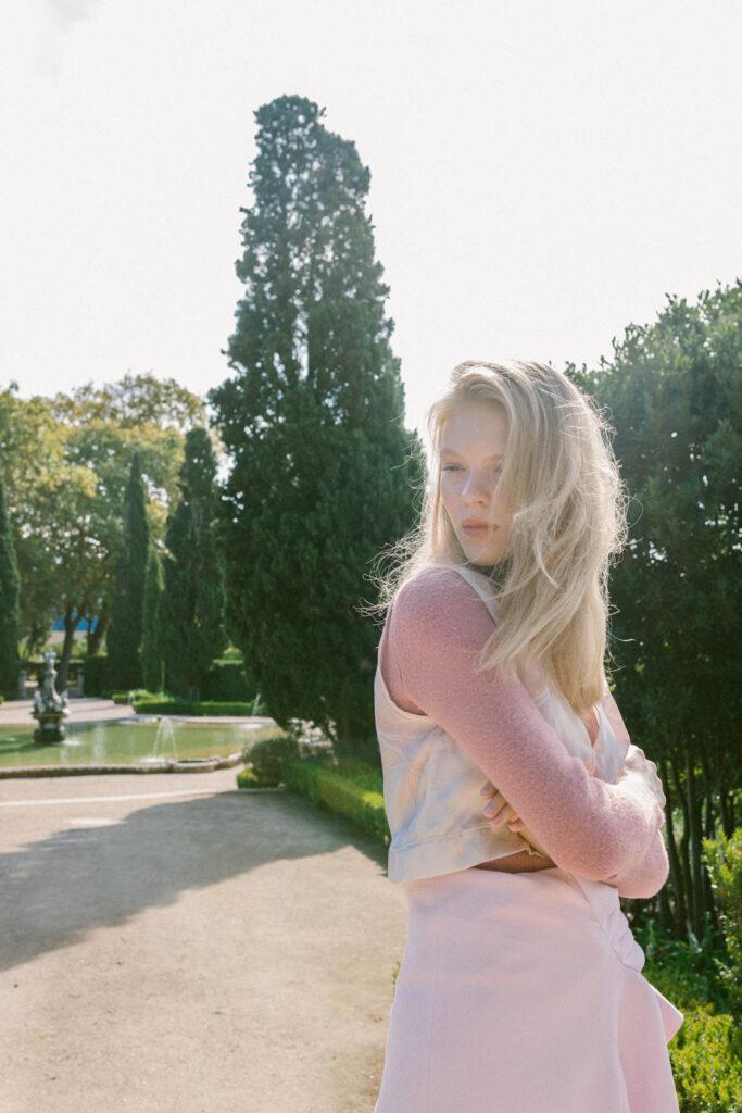 look book model Lisa