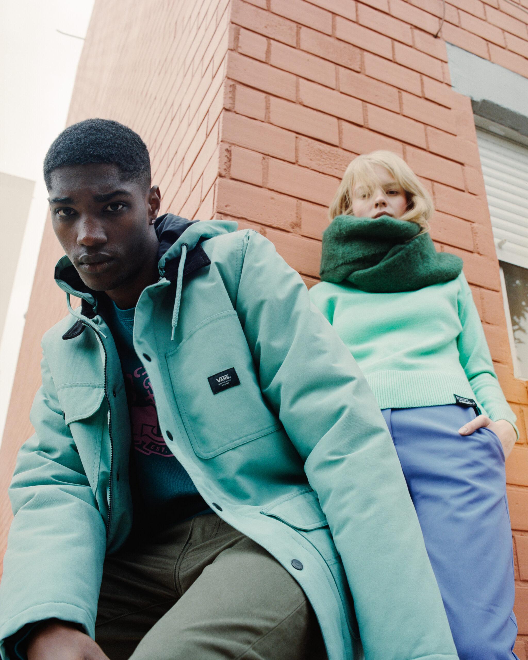 color blocking fashion editorial