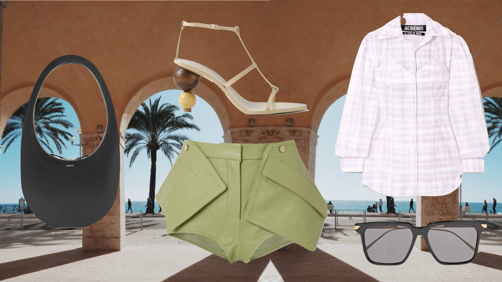 MOODBOARD SUMMER ESSENTIALS FROM NET A PORTER